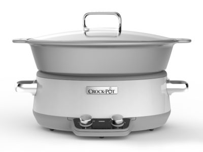 Slowcooker 6,0L – One Pot Cooking, DC, Tidtager