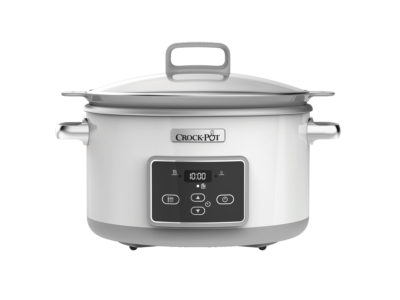 Slowcooker 5,0 L – One Pot Cooking, DC, ajastimella