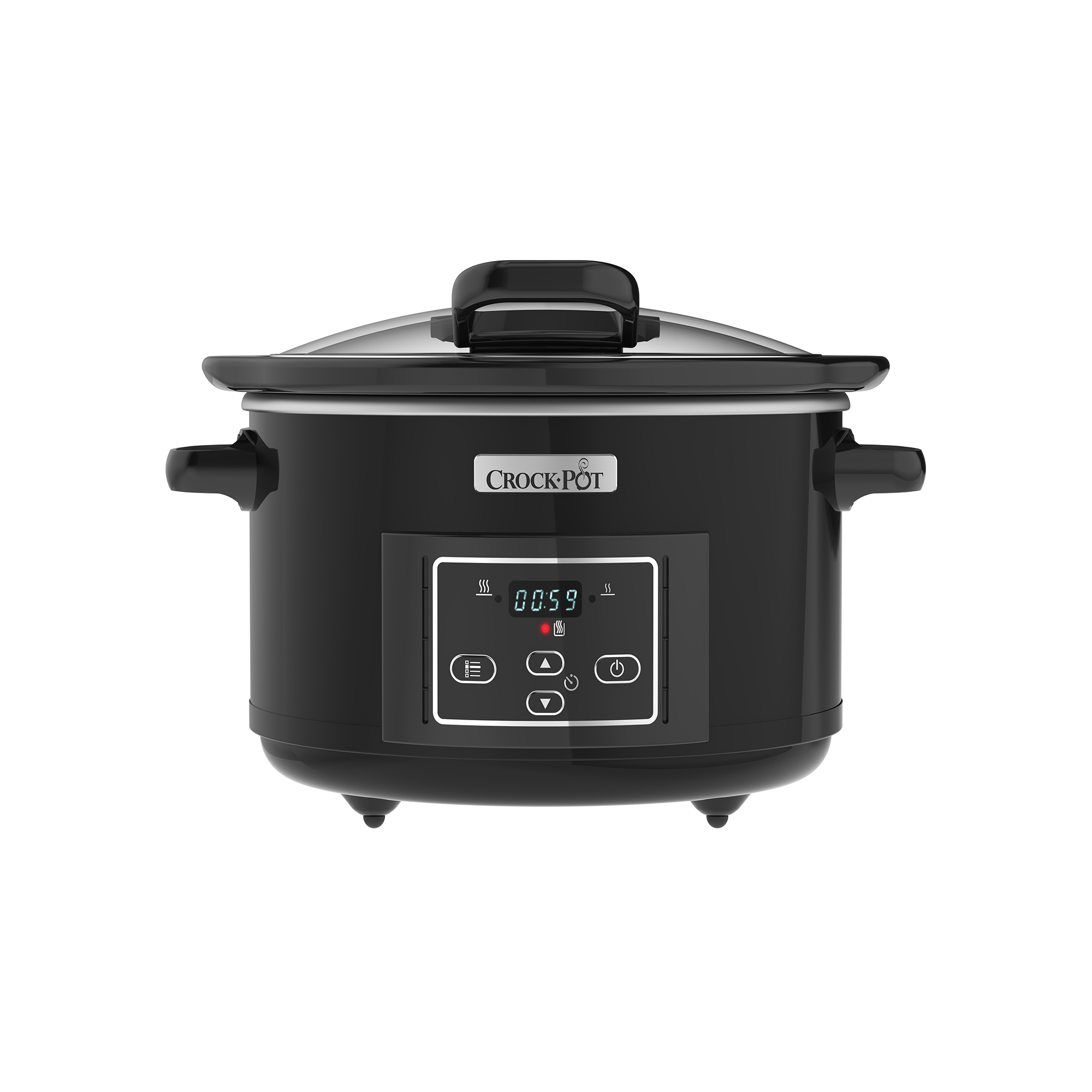 Slowcooker 4,7 L – Hinged lid, timer