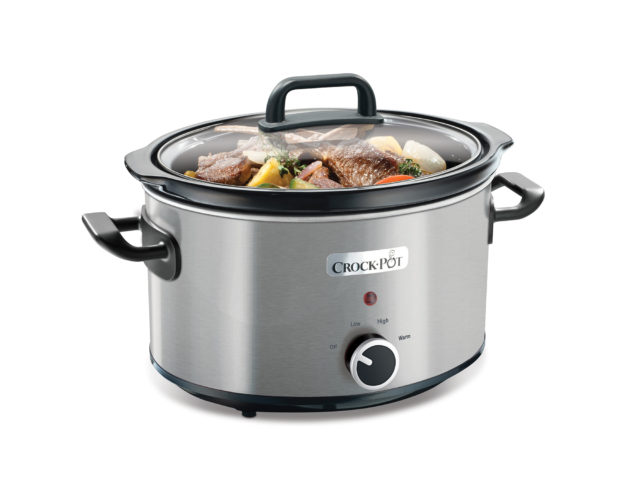 Slowcooker 3,5 L – Rustfri, manual