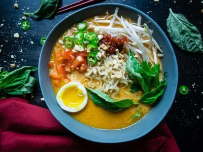 Ramen – thai rød curry