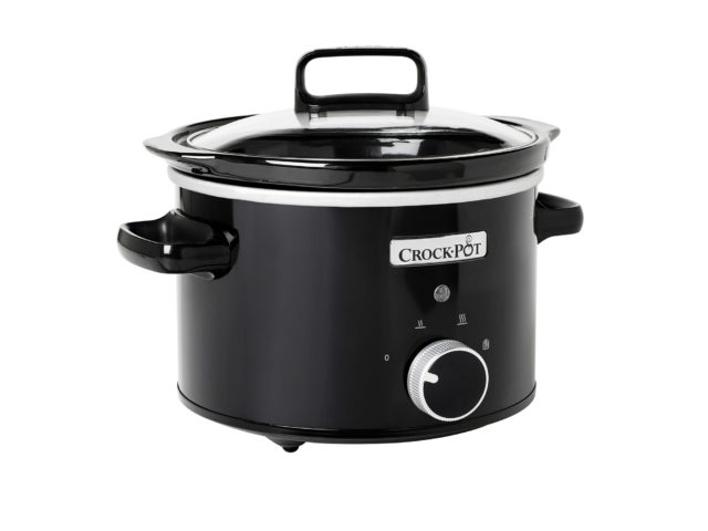 Crock-Pot Slowcooker 2,4 L – svart, manuell