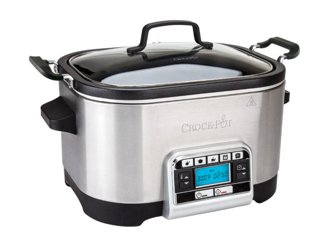 Crock-Pot Slowcooker 5,6 L – multifunktionell, timer