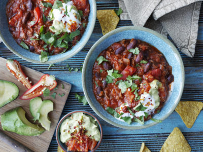 Chili con carne i Express